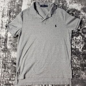 Polo Ralph Lauren Short Sleeve Grey Gray Cotton